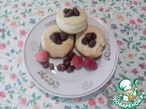Рецепт Домашнее печенье с земляничным вареньем