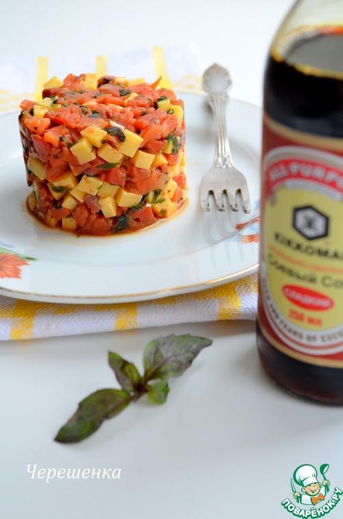 салат с рыбный рецепт с фото пошагово в