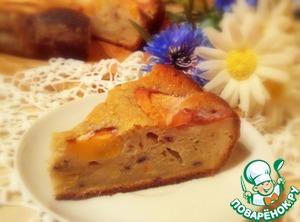 Рецепт Шикарный пирог с персиками