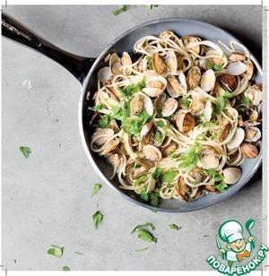Как готовить Спагетти с морепродуктами домашний рецепт с фотографиями