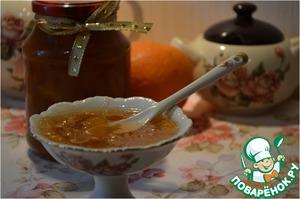 Рецепт Джем из груш, апельсинов и нектаринов