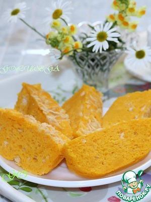 Рецепт Суфле из тыквы и моркови в микроволновке