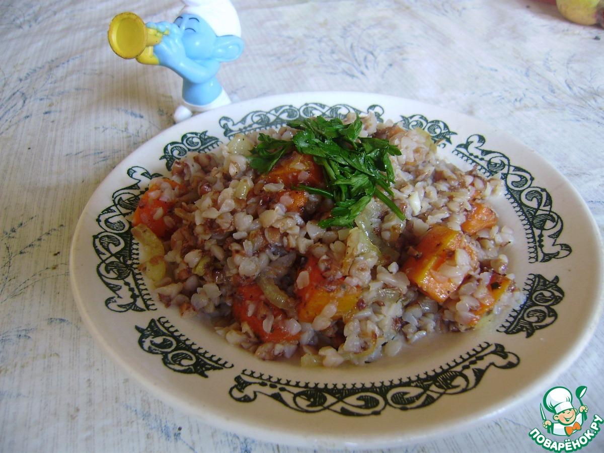 Гречка с грибами в горшочке с курицей в духовке рецепт пошагово