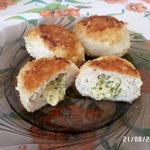 Куриные котлеты с сыром в мультиварке