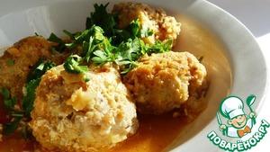 Рецепт Рыбные тефтели в томатно-имбирном соусе