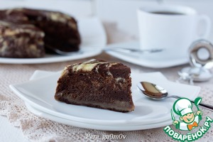 Рецепт Двойной шоколадный пирог на пару