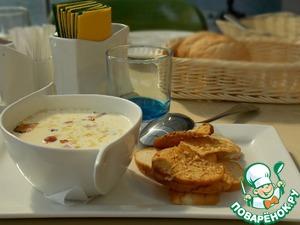 Рецепт Сырный суп в мультиварке
