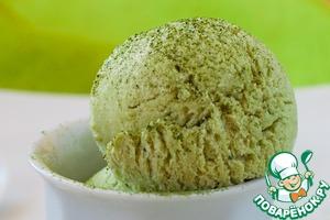 Рецепт Мороженое из зеленого чая