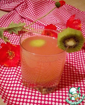 Рецепт: Морс грейпфрутовый