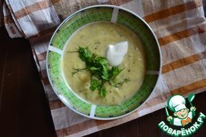 Рецепт Крем суп овощной