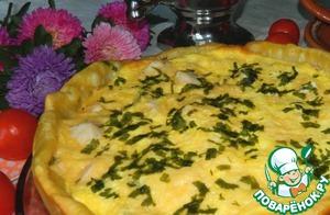Рецепт Пирог с курицей и кабачками
