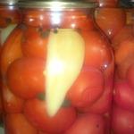 Консервированные помидорки-Вкусняшка