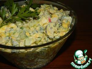 Рецепт Салат со свежими грибами