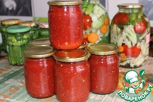 домашний кетчуп рецепт с фото пошагово