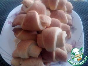 Рецепт Рогалики с повидлом