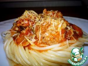 Рецепт Пикантные тефтельки в томатном соусе