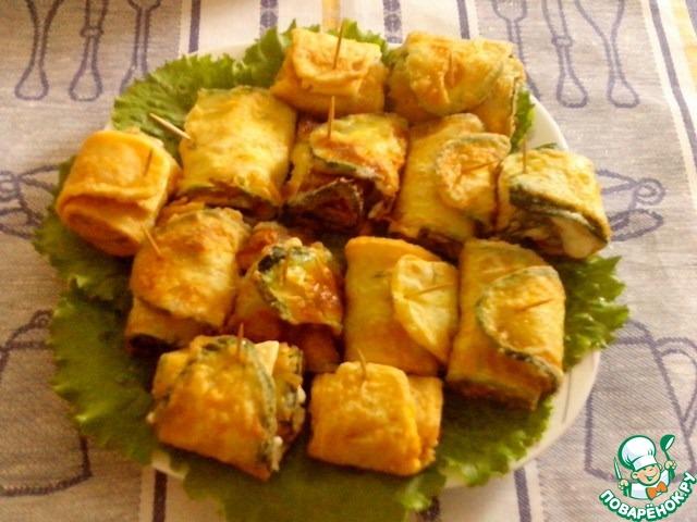 закуска из кабачков  рецепты