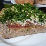 Мясная запеканка с баклажанами и помидорами (в мультиварке)