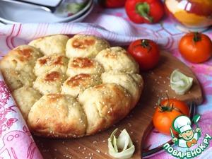 Рецепт Капустные булочки с кунжутом