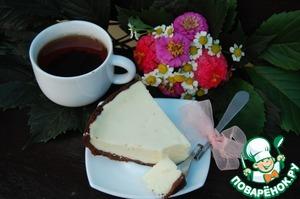 Рецепт Творожный пирог с шоколадным тестом в мультиварке