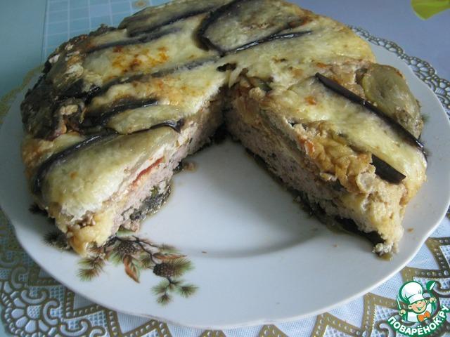 Готовим Запеканка из баклажанов с мясным фаршем рецепт приготовления с фотографиями пошагово #11