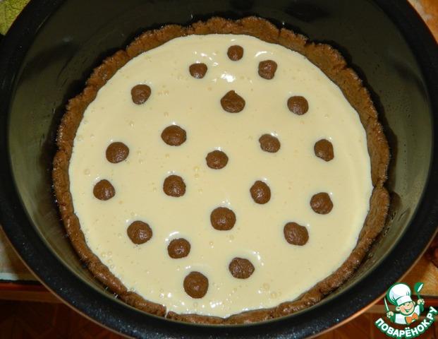Пирог с творожными шариками в мультиварке рецепт с фото