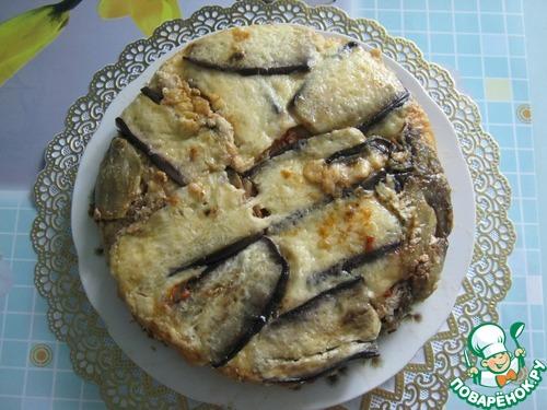 Готовим Запеканка из баклажанов с мясным фаршем рецепт приготовления с фотографиями пошагово #12