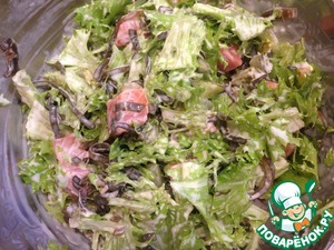Холодный салат из семги вкусный рецепт с фото как готовить