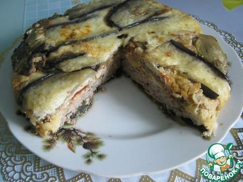 Готовим Запеканка из баклажанов с мясным фаршем рецепт приготовления с фотографиями пошагово #14