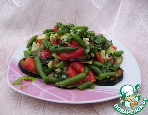 Рецепт Салат с кабачками и фасолью