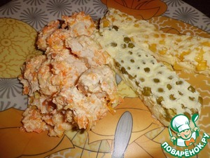 Рецепт Курица в сырно-сметанном соусе