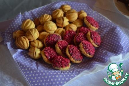 Орешки со сгущенкой как сделать
