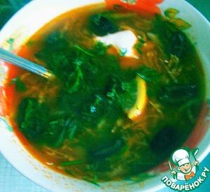 Рецепт Солянка овощная для похудения