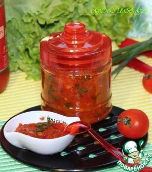 Рецепт Чесночно-томатный чатни