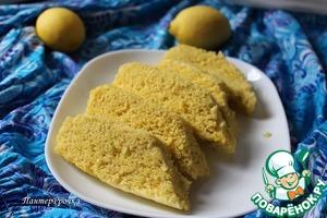 Рецепт Лимонный пирог на пару