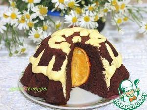 Рецепт Шоколадный пудинг с цельным апельсином