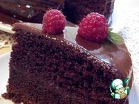 Шоколадный торт на раз-два-три ингредиенты