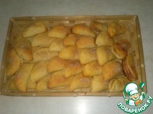 Рецепт Печеные вареники с яблоками
