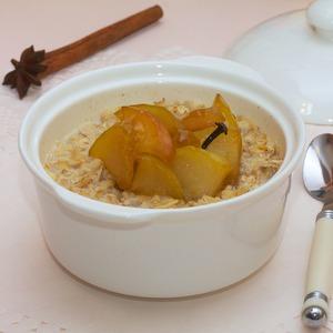Рецепт Овсянка с пряными яблоками