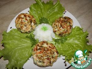 Рецепт Рубленые куриные котлеты с кабачком