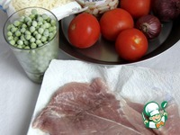 """Сковорода """"Мексика"""" со свиными шницелями ингредиенты"""