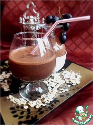 Рецепт Горячий шоколад-напиток из какао с геркулесом