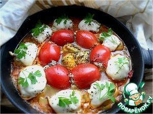 Рецепт Овощное ассорти, фаршированное рыбно-грибной начинкой