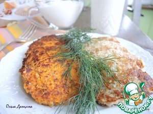 Рецепт Гречневые котлетки с овощными наполнителями