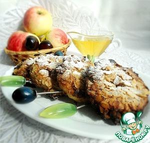 Рецепт Пончики из яблок в геркулесовой корочке