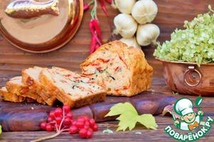 Рецепт Хлеб с моцареллой и вялеными томатами