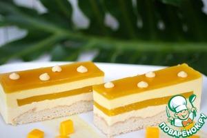 Рецепт Манговый-кокосовый торт
