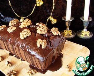 Рецепт Шоколадный кекс с пивом