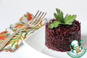 Рецепт Свекла с жареным луком на зиму
