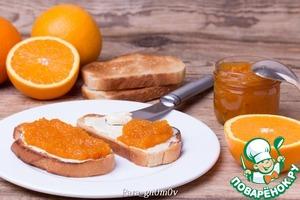 Рецепт Морковно-апельсиновый конфитюр